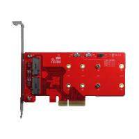 PCIe x4 to dual M.2 RAID module (ELPS-32R1-C1)