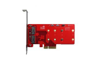 Интерфейсные платы Standard PCIe PCIe x4 to dual M.2 RAID module (ELPS-32R1-C1)