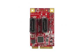 Интерфейсные платы mPCIe/mSATA mPCIe to Dual SATA III Module WT (EMPS-3201-W1)