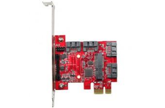 Интерфейсные платы Standard PCIe PCIe to four SATA3 card (ESPS-3401-C1)