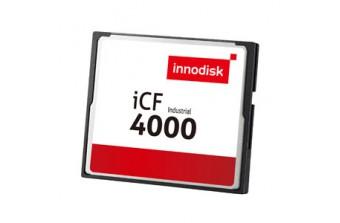 Твердотельный диск CompactFlash card (CF) 02GB iCF4000 (DC1M-02GD31W1DB)