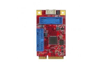 Интерфейсные платы mPCIe/mSATA mPCIe to Four USB 3 (EMPU-3401-C1)