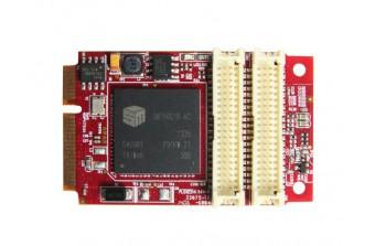 Интерфейсные платы mPCIe/mSATA mPCIe to Dual VGA & HDMI (EMPV-1201-C1)