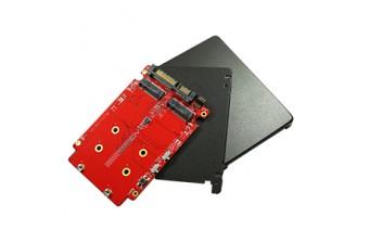 "Интерфейсные платы 2.5"" SSD SATA to dual M.2 RAID Card (E2SS-32R2-C1)"