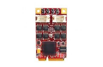 Интерфейсные платы mPCIe/mSATA mPCIe to Four RS422/485 (EMP2-X402-W1)