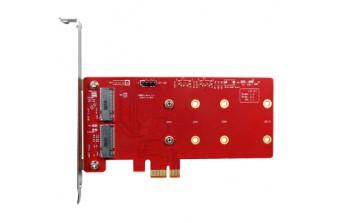 Интерфейсные платы Standard PCIe PCIe to dual M.2 module (ESPS-3201-C1)