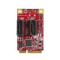 mPCIe to Dual SATA III Module (EMPS-3201-C1)