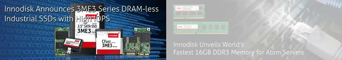 Новое поколение промышленных SSD-накопителей от фирмы InnoDisk